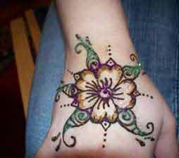 henna design examples